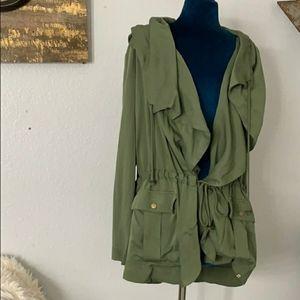 Green Billabong  jacket